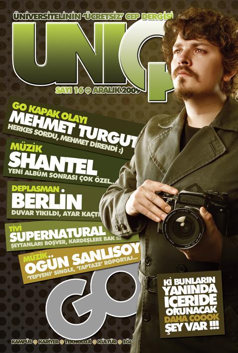 Uniq Cover Mehmet Turgut by mehmeturgut