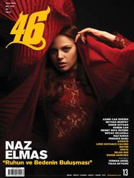 Naz Elmas 46 Magazine Dance Edition Cover