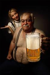 heidi and grandfather . . . 8 by mehmeturgut