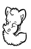 MS Paint Version: Cat/Fox Base by DesuPanda-Adopts