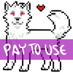 Shaded Pixel Puppy Base