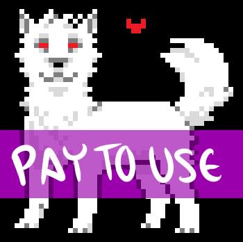 Shaded Pixel Puppy Base by Wickerish