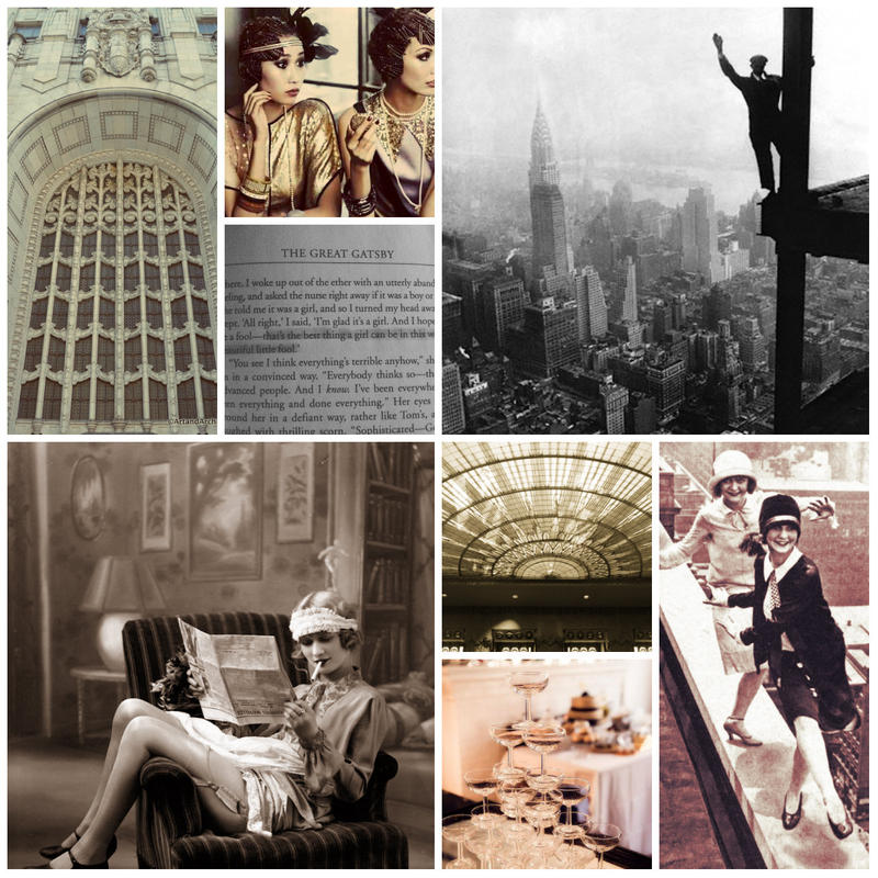 1920s aesthetic (collage?) by GrimtalesRachel
