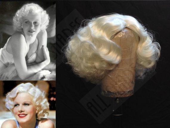 Jean Harlow inspired wig by Allshapesshowcase