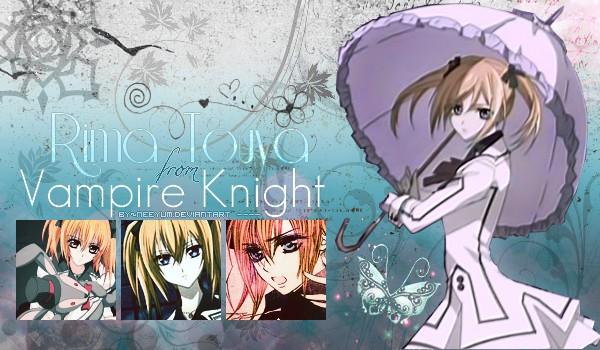 Rima Touya from Vampire Knight by NeeYumi on DeviantArt
