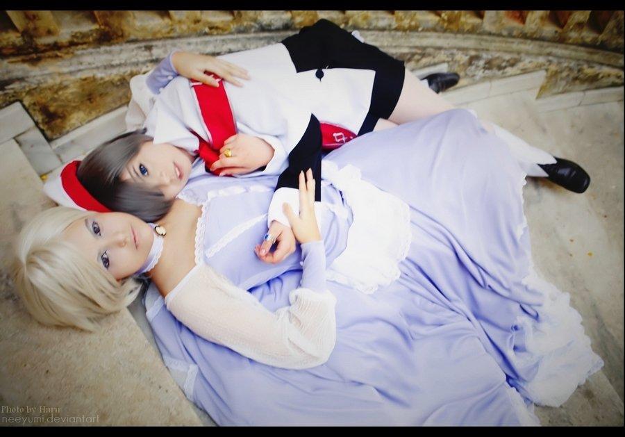 Kuroshitsuji: Angela and Ciel by NeeYumi