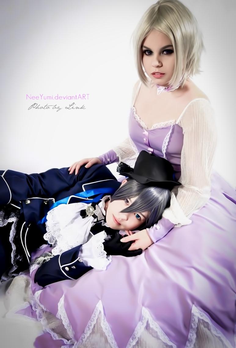 Kuroshitsuji - Angela and Ciel by NeeYumi