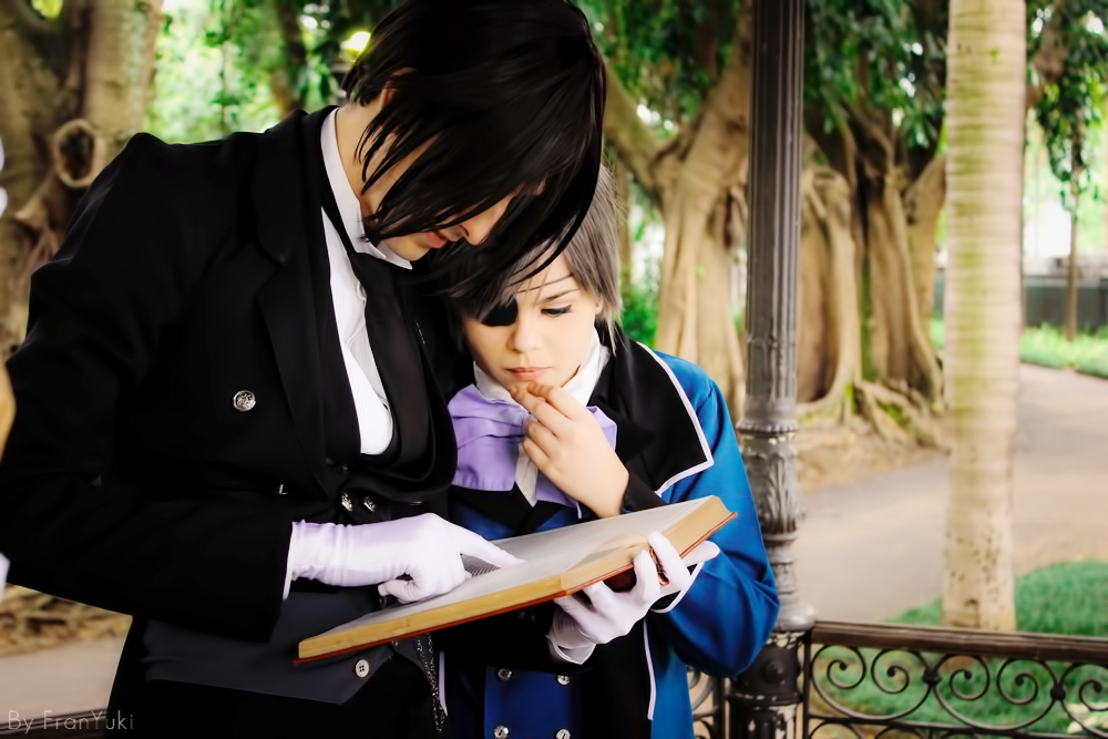Kuroshitsuji - His butler, reading by NeeYumi