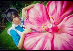Kuroshitsuji - The Big flower in Wonderland by NeeYumi