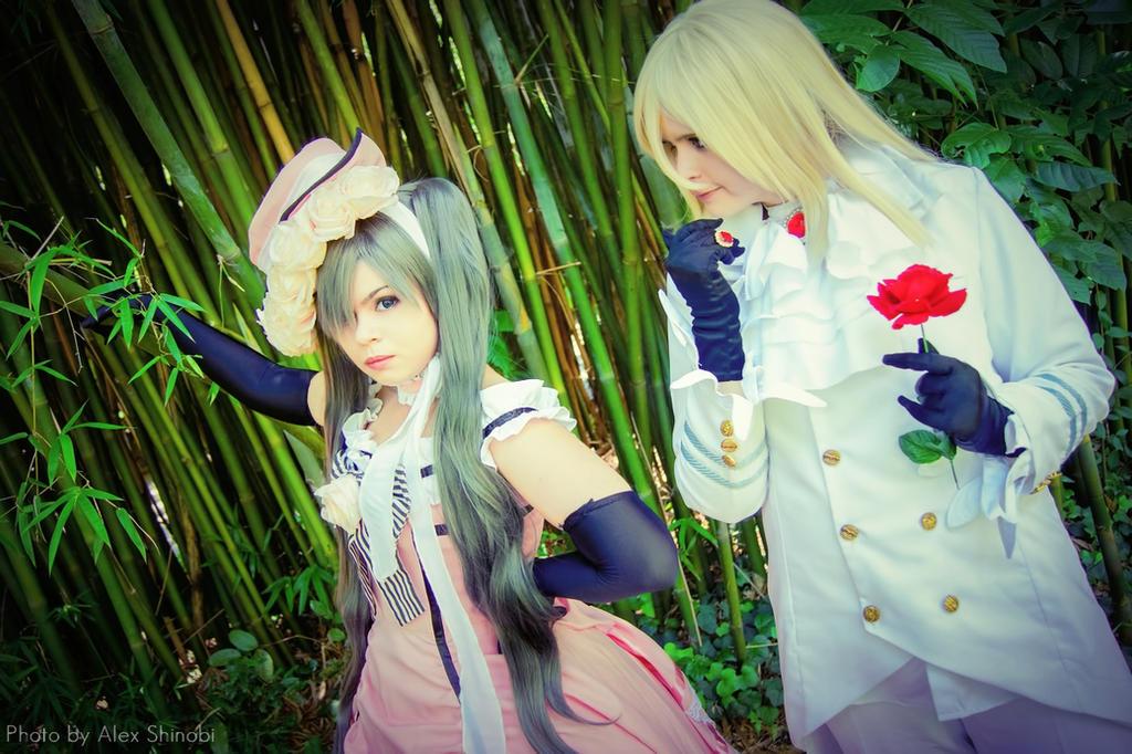 Kuroshitsuji - Lady Ciel and Druitt by NeeYumi