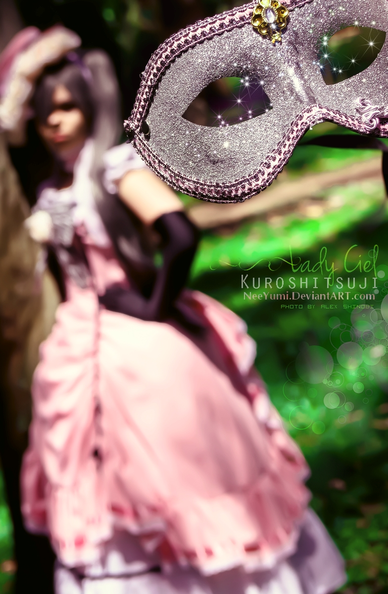 Kuroshitsuji - Mask by NeeYumi