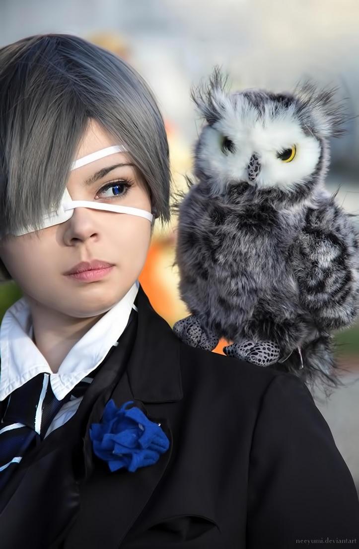 Kuroshitsuji - Sapphire Owl by NeeYumi