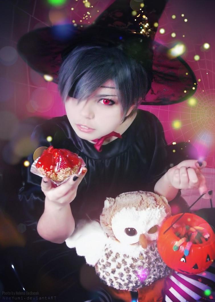 Kuroshitsuji - Happy Halloween by NeeYumi