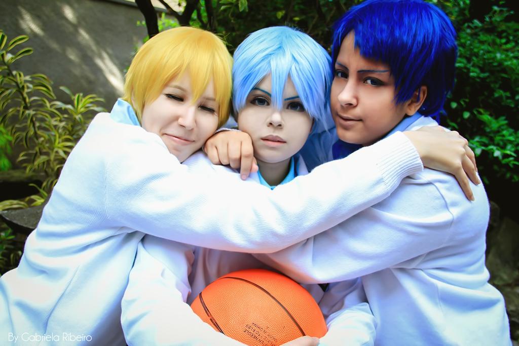 Kuroko no Basket - Hug hug hug by NeeYumi