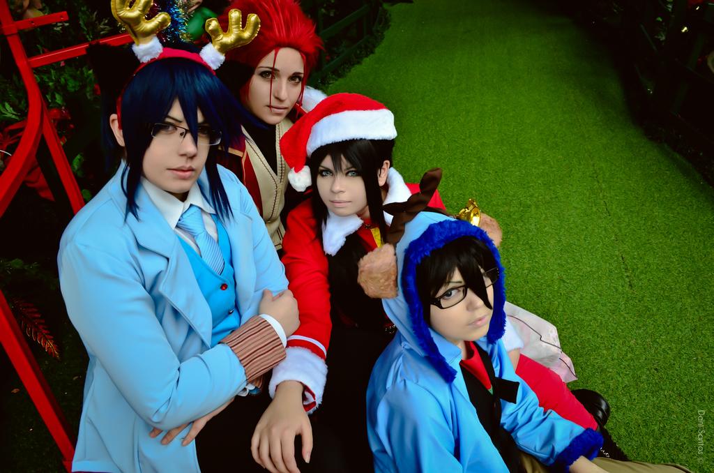 K Project - Christmas by NeeYumi