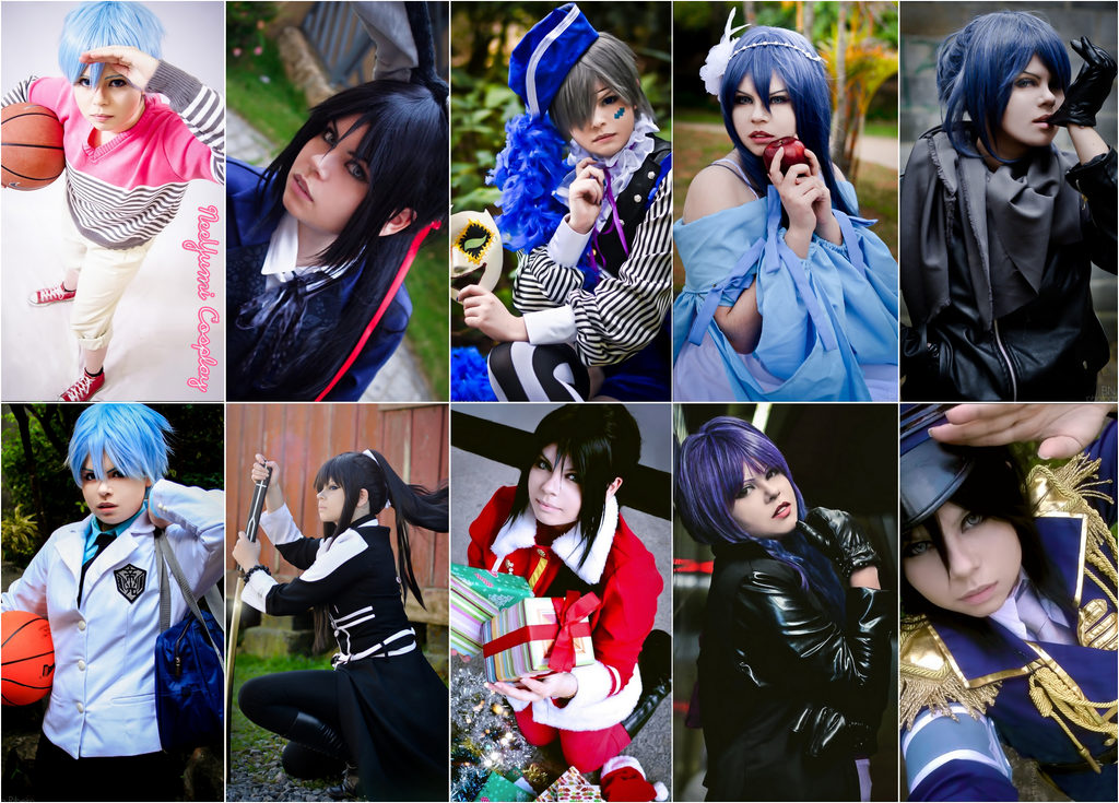 Retrospective cosplay 2014 by NeeYumi