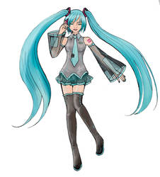 .: Origional Miku colord :. by Delight046