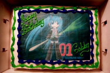 .: Gabby's Birthday Cake :.