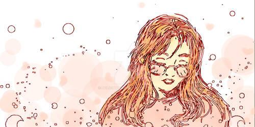 .: Tablet Self Portrait :.