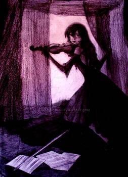 The Twilight Violinist