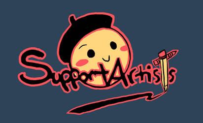 Support Artists Logo