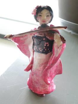 Pink Nihon Violinist Complete