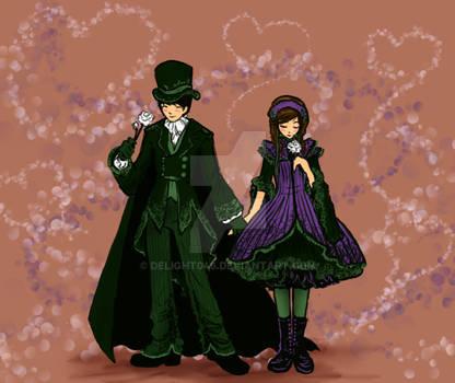 Darcy and Lyzzie Lolita Design