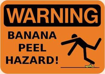 Warning Banana