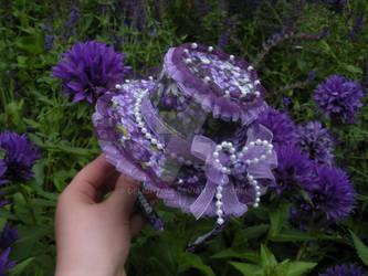 Lilac Purp Lolita Hat headband