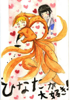 Naruto and Hinata ga DAISUKI