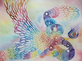 Rainbow Phoenix by Delight046