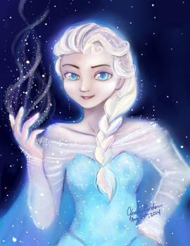 Paint Tool Sai Experient: Elsa