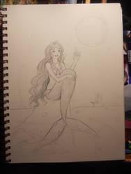 Firefly Mermaid WIP by Delight046