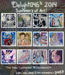 Delight046's Summary of Art 2014 by Delight046