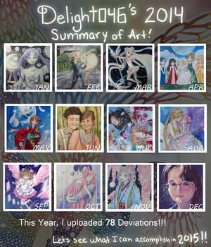 Delight046's Summary of Art 2014