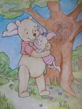 Pooh and Piglet 5-31-15 by Delight046