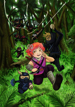AnimeIowa 2015 Program Book Cover