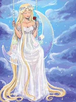 Princess Serenity Gown Redesign
