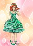 Osaka Naru Dress Redesign by Delight046