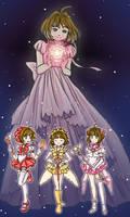 If Sakura Kinomoto was a Sailor Senshi by Delight046