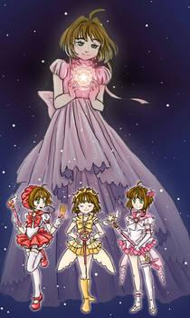 If Sakura Kinomoto was a Sailor Senshi