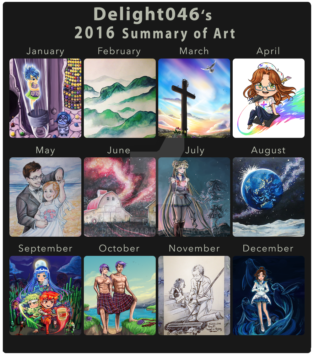 2016 Summary of Art by Delight046