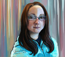 2016 Self Portrait by Delight046