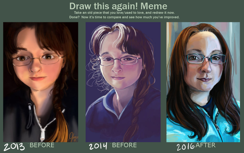 Draw this again 2016 edition: NOT A CONTEST ENTRY by Delight046