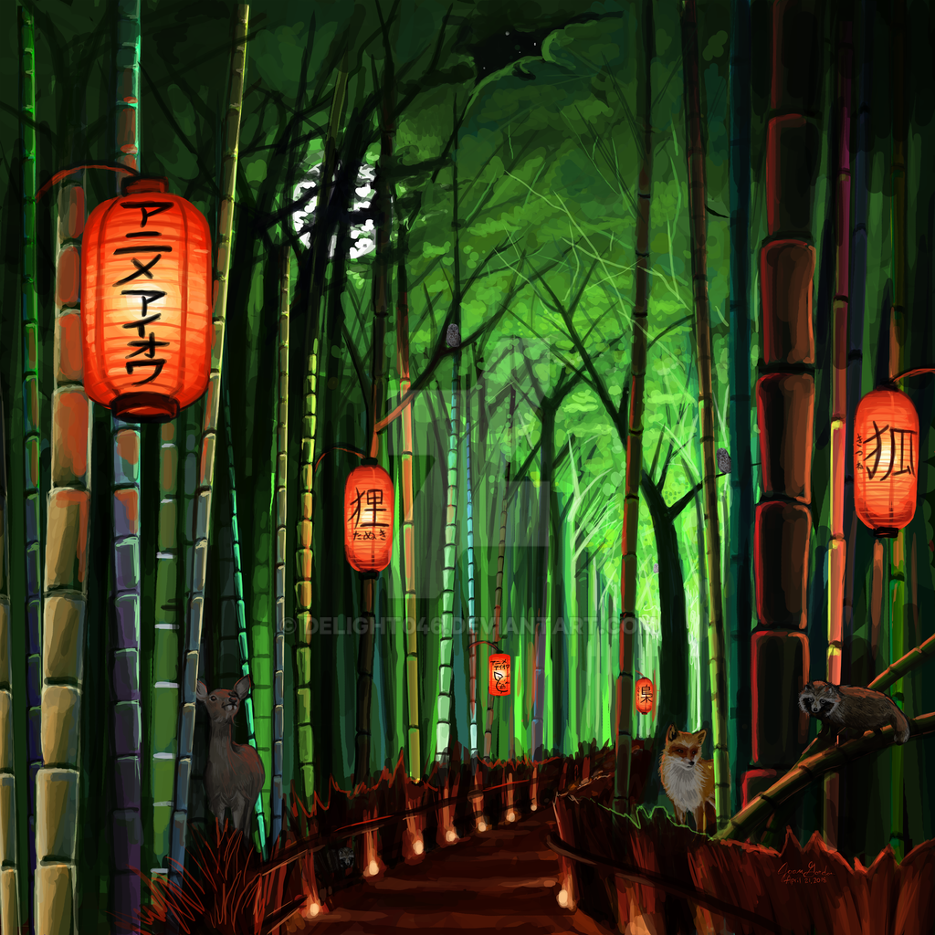 Into the Bamboo Forest by Delight046