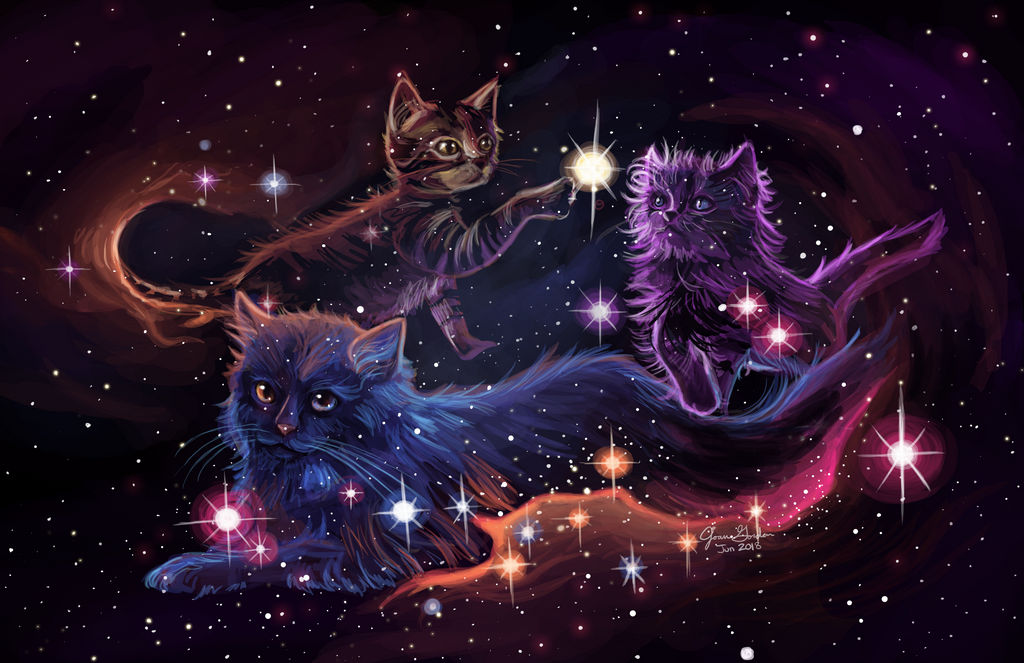 Nebula Kitties by Delight046