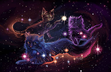 Nebula Kitties