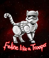 Stormtrooper Cat by Delight046
