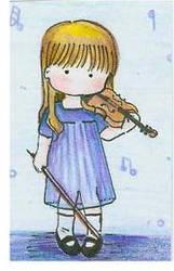 Violin gal by Delight046