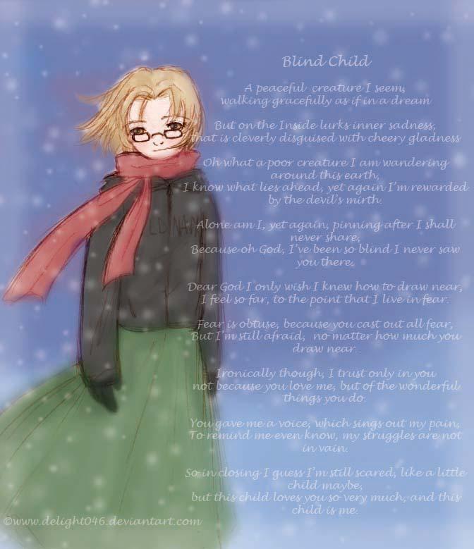 Blind Child Poem by Delight046 on DeviantArt